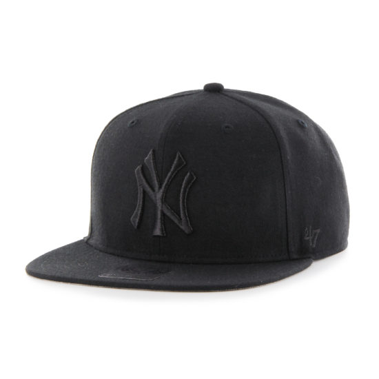 Snapback kšiltovka 47 brand No Shot Captain New York Yankees black 850 Kč