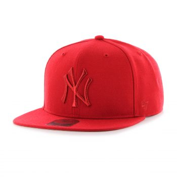 Snapback kšiltovka 47 brand No Shot Captain New York Yankees red 850 Kč