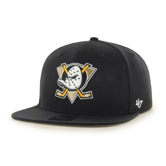 Snapback 47 brand Anaheim Ducks Black Prague