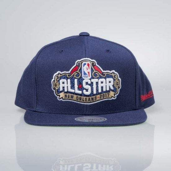 Snapback Mitchell & Ness ALL STAR New Orleans 2017 navy 950 Kč