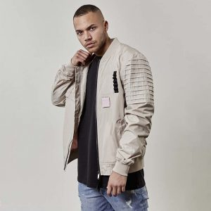 bunda-cayler-and-sons-pleated-bomber-beige-csbl-bomber