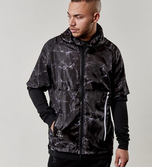 Bunda Cayler & Sons Jacket Coast To Coast Layer Windbreaker Black 2845 Kč