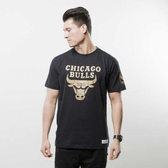 Triko Mitchell & Ness Chicago Bulls black NBA WINNING PERCENTAGE 950 Kč