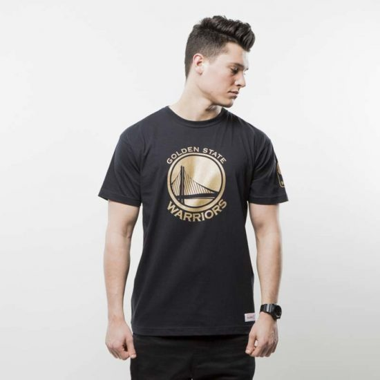 Triko Mitchell & Ness Golden State Warriors black NBA WINNING PERCENTAGE 950 Kč