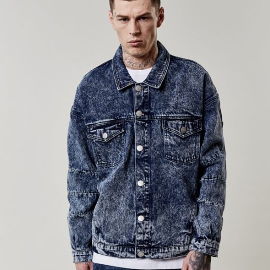 Bunda Cayler & Sons Denim Trucker Jacket Blue Koupit