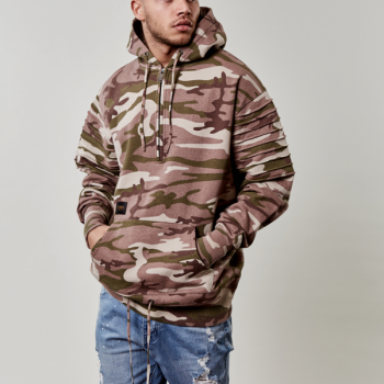 Mikina Cayler & Sons Pleated Loose Fit Hoody Multicolor 2445 Kč