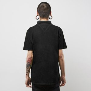 panske-triko-backyard-cartel-combat-polo-shirt-washed-black-skladem