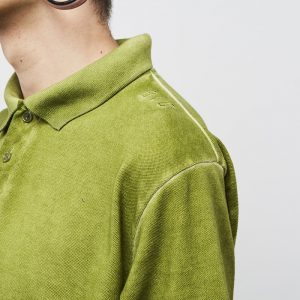 panske-triko-backyard-cartel-combat-polo-shirt-washed-khaki-prague