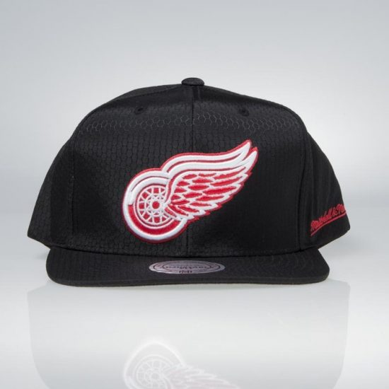 Snapback kšiltovka Mitchell & Ness Detroit Red Wings Black Ripstop Honeycomb 895 Kč