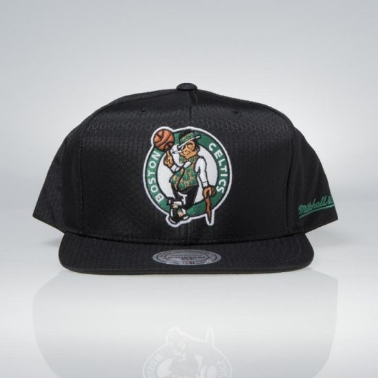 Snapback kšiltovka Mitchell & Ness Boston Celtics Black Ripstop Honeycomb 895 Kč