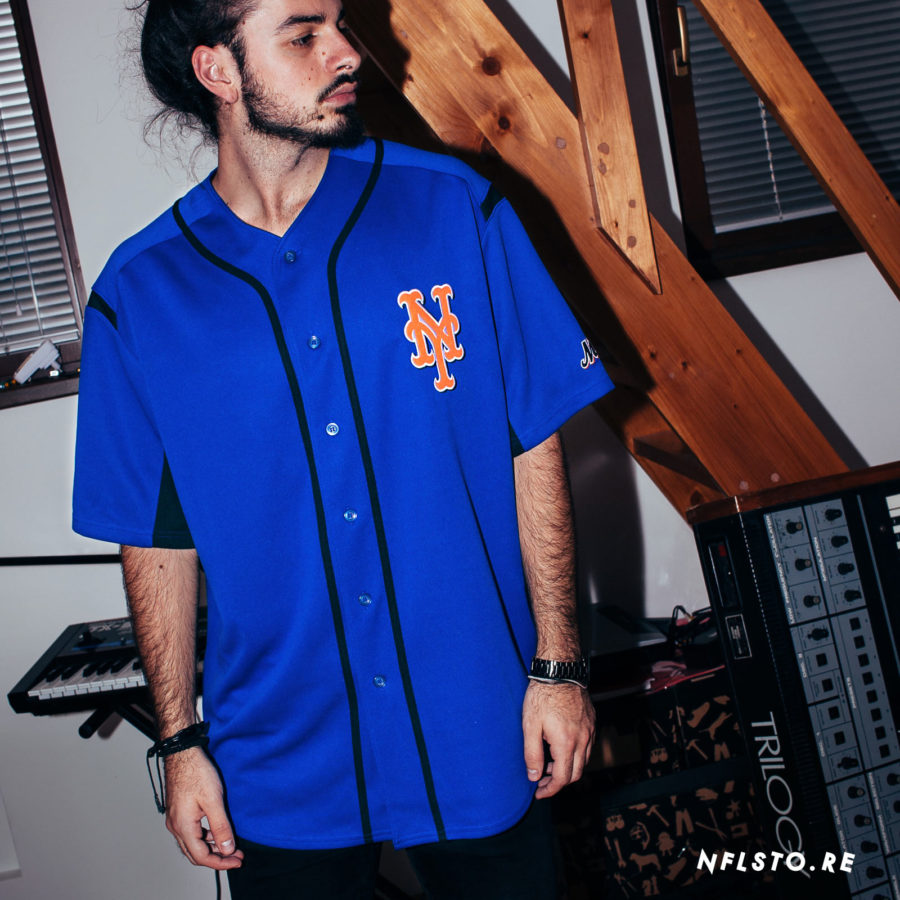 Dres MLB Majestic New York Mets