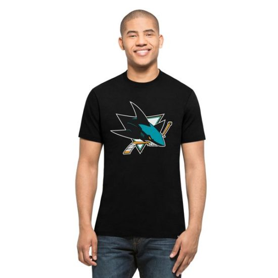 47 brand triko San Jose Sharks Club Tee black 719 Kč