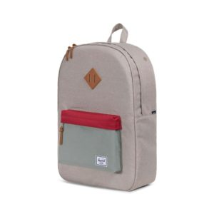 batoh-herschel-supply-heritage-backpack-light-khaki-crosshatch-Shadow-Brick Red-Tan-novinka