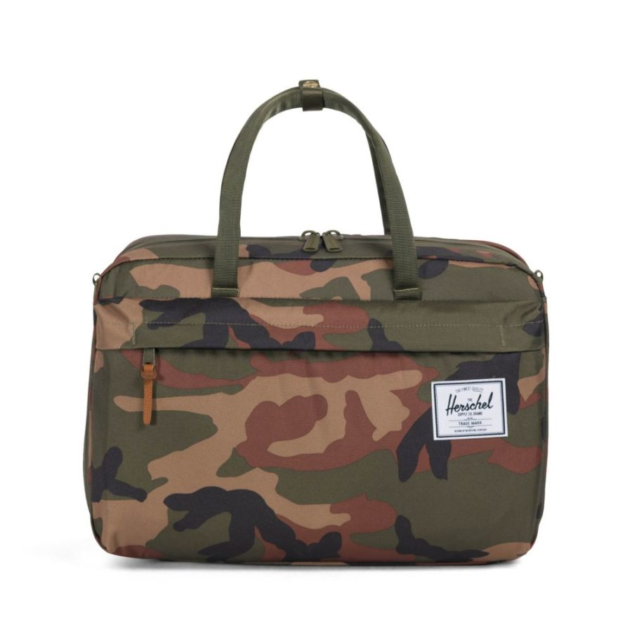 Taška Herschel Supply Bowen Travel Duffle woodland camo 2535 Kč