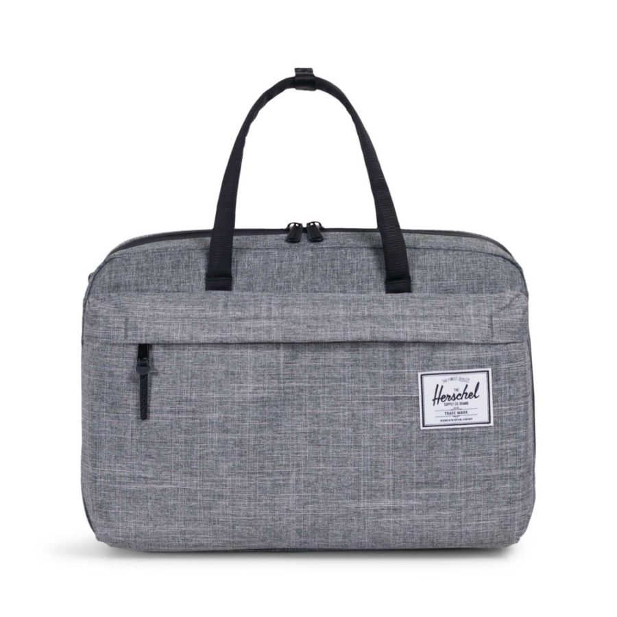 Taška Herschel Supply Bowen Travel Duffle raven crosshatch 2535 Kč
